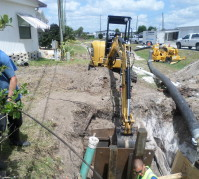 Sanitary Sewer Pipe Bursting - Subterrain Technologies, Inc.