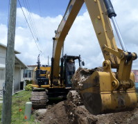 Excavation and Repair of Sanitary Sewer - Subterrain Technologies, Inc.